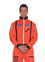 Orange Astronaut Costume