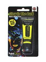 Paintglow Glow in the Dark Yellow Body Paint