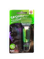 Paintglow UV Green Glitter Body Gel