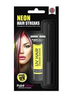 Paintglow UV Yellow Hair Colour Streaks