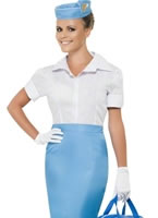 Ladies Pan America World Airways Costume [39891]
