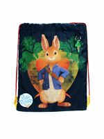 Peter Rabbit Badge Collector Drawstring Trainer Bag