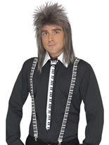 Piano Keyboard Tie and Braces [38769]