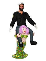 Piggy Back Mermaid Costume [AC81370]