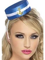 Pill Box Sailor Hat [28885]