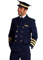 Pilot Captains Costume [208204]