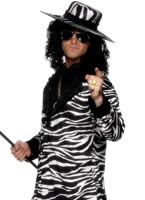 Adult Pimp Daddy Costume White And Black