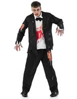 Pin Stripe Zombie Gangster Costume [FS3500]