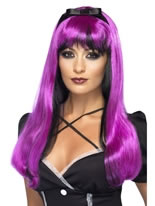 Pink and Black Bewitching Wig
