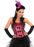 Pink Burlesque Dress Costume [FS2772]