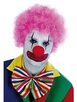 Adult Pink Clown Wig