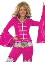 Pink Dancing Queen Costume [FS3186]
