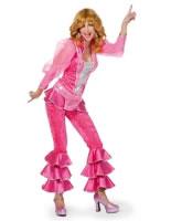 Adult Pink Mamma Mia Costume [4147A]