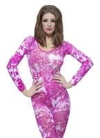 Pink Tie-Dye Bodysuit