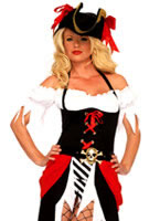 Pirate Beauty Costume [83699]