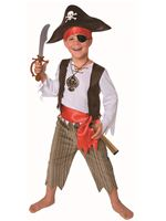 Child Pirate Costume [3560A]