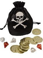 Pirate Coin and Pouch Set