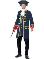 Adult Pirate Commander Costume [24168]