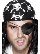 Pirate Eye Patch Black