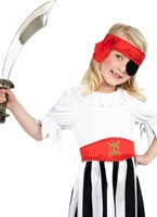 Child Pirate Girl Childrens Costume