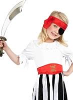 Child Pirate Girl Childrens Costume