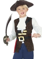 Pirate Jack Boy Childrens Costume [38664]