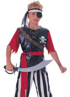 Child Pirate King Costume [881040]
