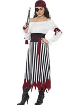 Pirate Lady Dress Costume