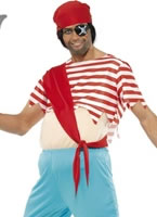 Pirate Mate Stuffed Top Costume [33366]