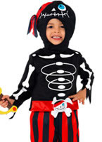 Pirate Skeleton Childrens Costume [35647]