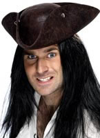 Pirate Tricorn Hat [34564]