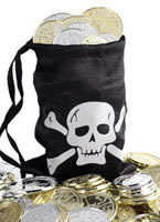 Pirates Coin Bag