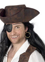 Pirates Eye Patch And Earring [3909]