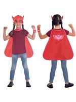 PJ Masks Child Owlette Cape Set