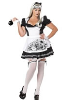 Adult Plus Size Dark Alice Costume [1698]