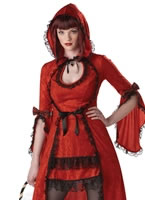 Adult Strangeling Red Riding Hood Costume [00976]