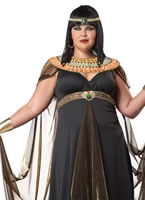 Adult Plus Size Queen of the Nile Costume