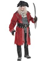 Plus Size Zombie Pirate Costume