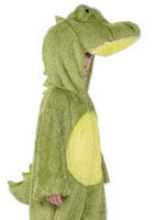 Child Plush Crocodile Costume