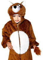 Child Plush Fox Costume [30021]