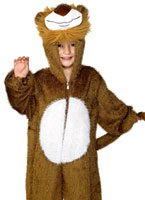 Childrens Plush Lion Costume [30012]