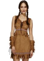 Adult Pocahontas Indian Girl Costume [32042]