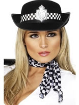 Adult Policewoman Hat [8401]