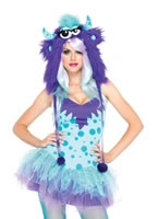 Adult Polka Dotty Costume [83959]