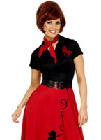 Adult 1950s Poodle Dress Costume