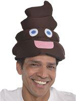 Poop Head Emoji Hat