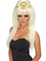 Pop Sensation Lady Ga Ga Blonde Wig
