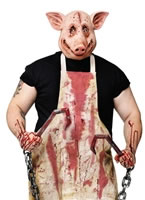 Adult Butcher Pig Costume
