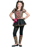Precious Leopard Childrens Costume