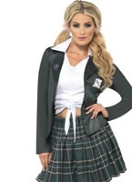 Adult Preppy Schoolgirl Costume